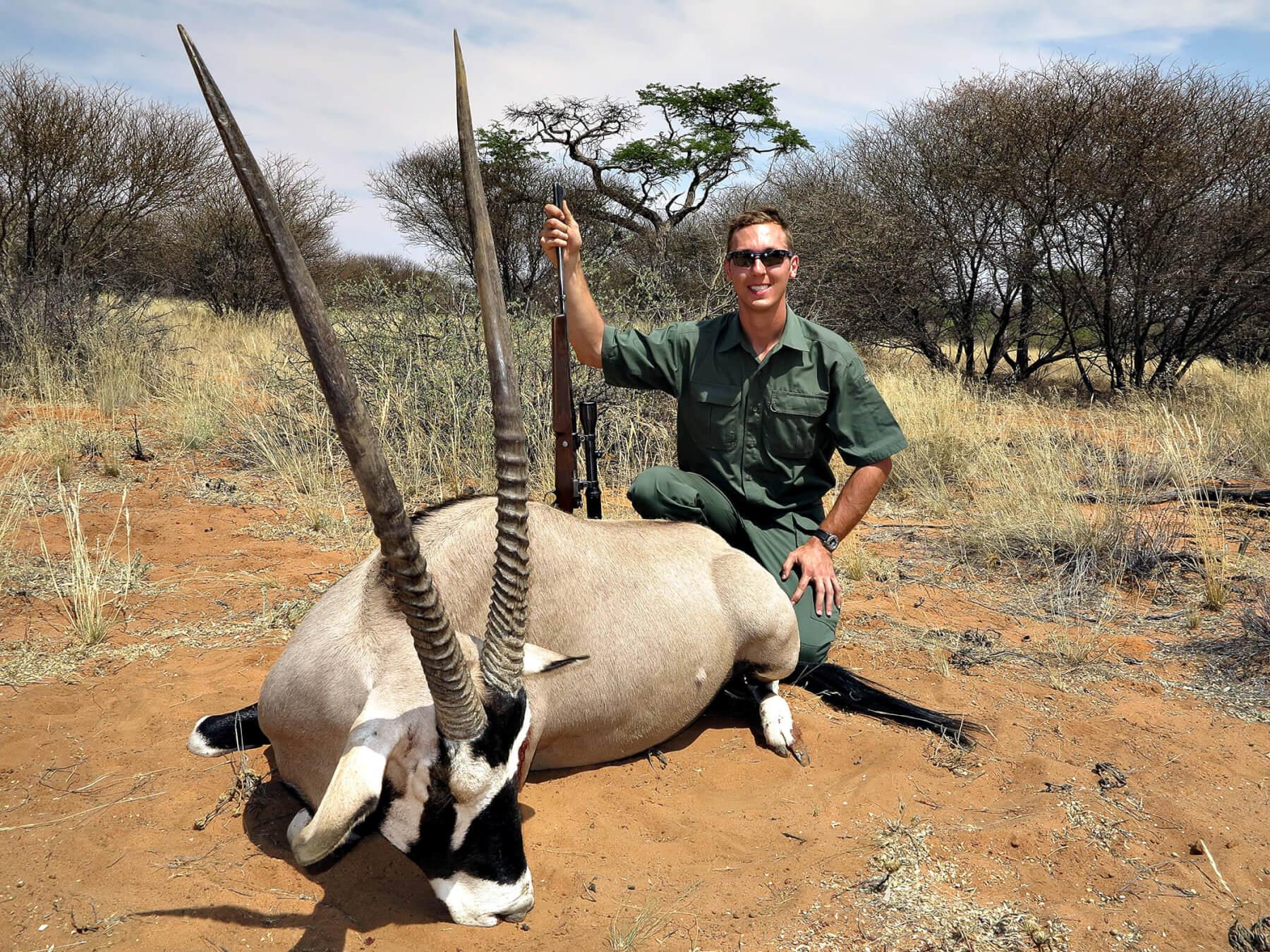 Gemsbok Oryx 187 Schalk Pienaar Hunting Safaris In Namibia