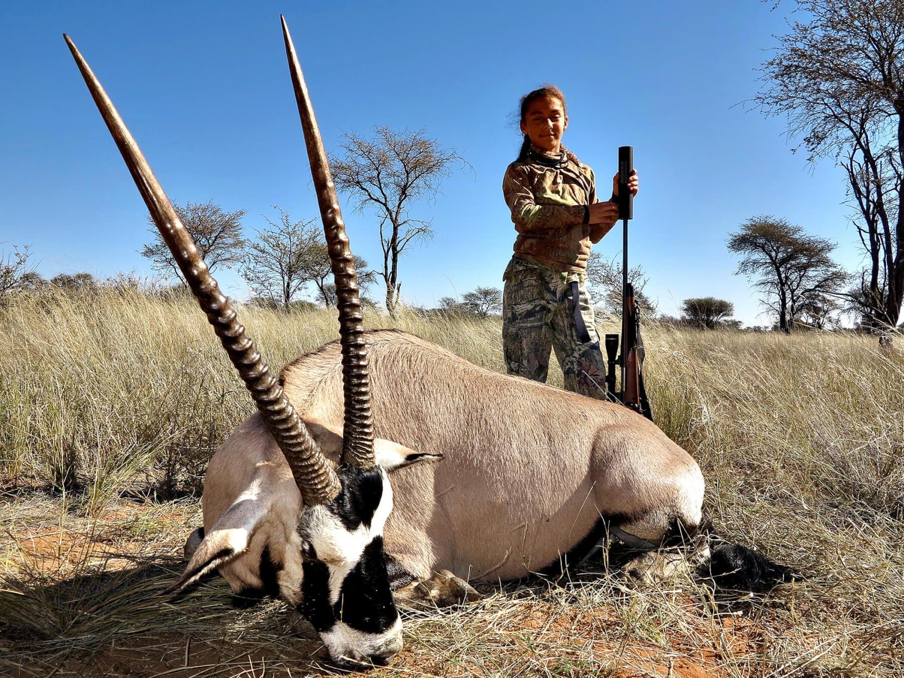 Gemsbok Oryx Hunting 187 Schalk Pienaar Hunting Safaris In