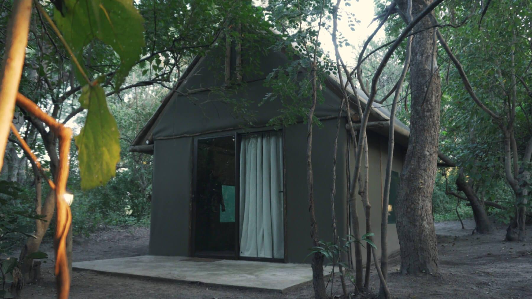 Caprivi Camp Guest Tent ~ Schalk Pienaar Safaris Namibia