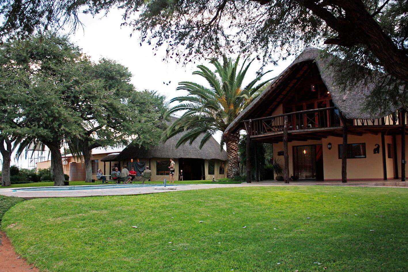 Schalk Pienaar Safaris Namibia ~ Neuhof Hunting Lodge