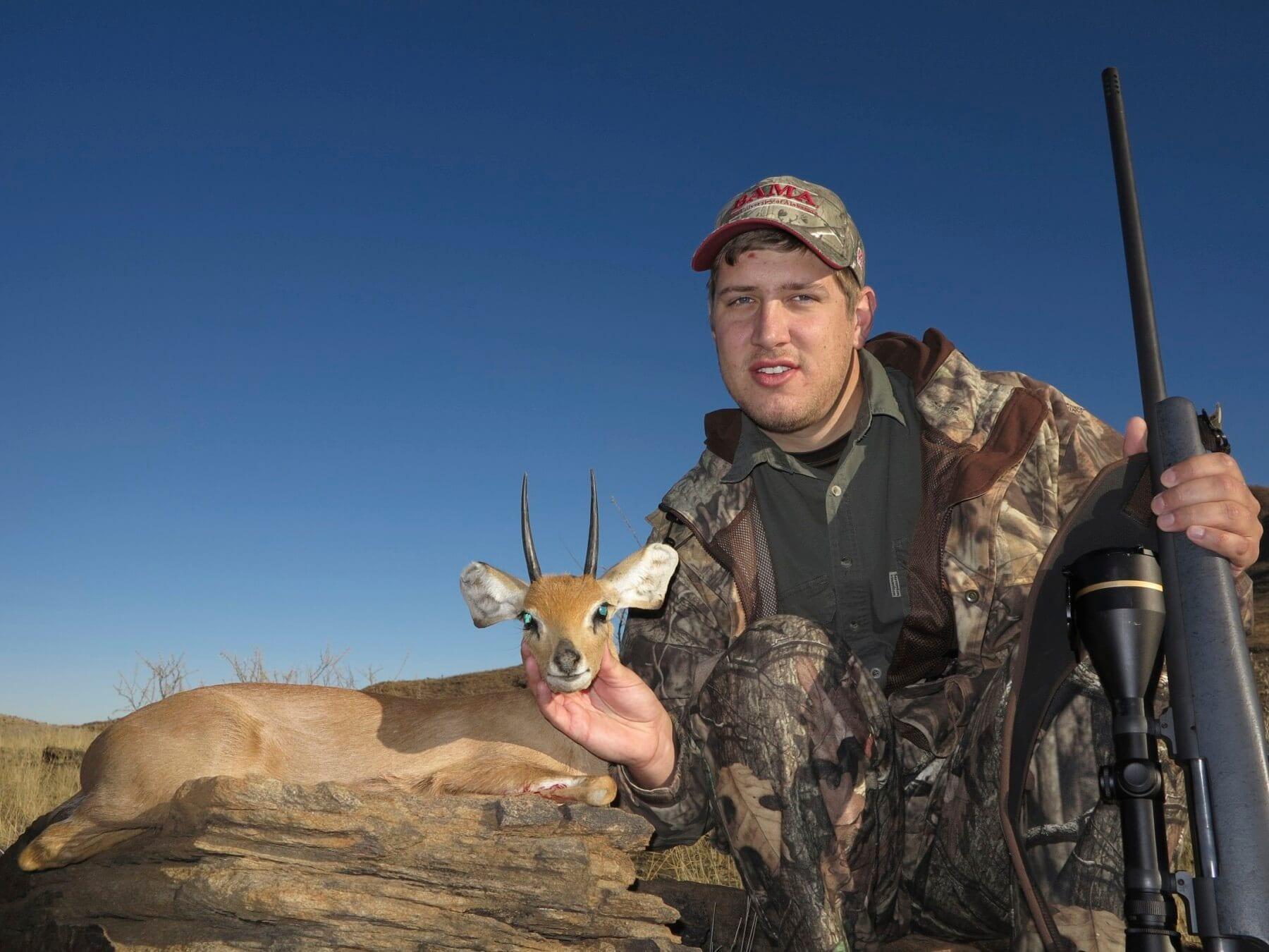 Schalk Pienaar Safaris Namibia ~ Steenbuck Hunting
