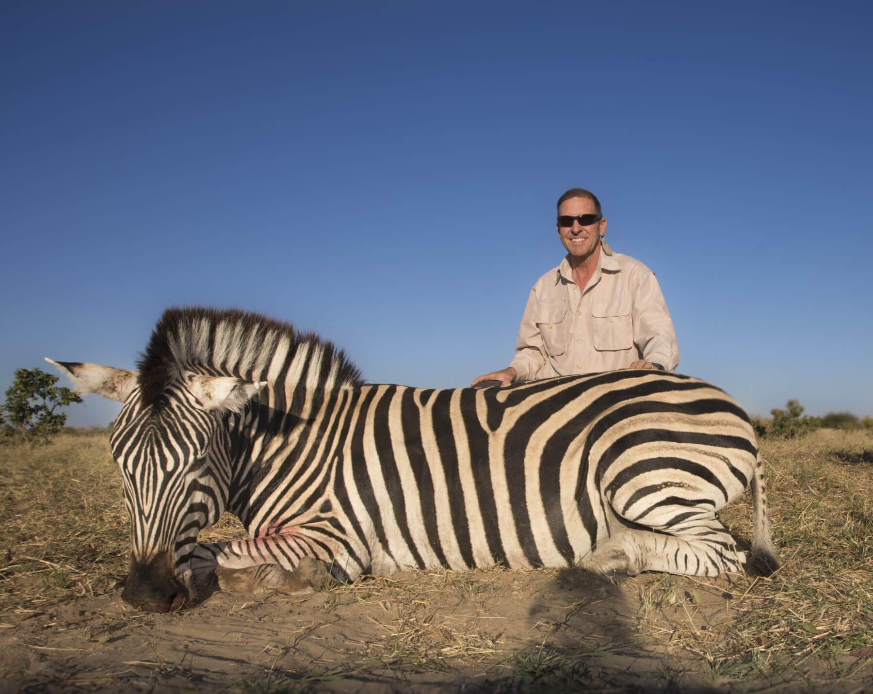 Schalk Pienaar Safaris Nambia ~ Burchell's Zebra Hunting