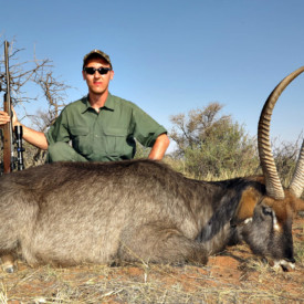 Schalk Pienaar Hunting Safaris Namibia 2018 Trophy ~ Waterbuck