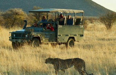 Schalk Pienaar Safaris Namibia ~ Erindi Private Game Reserve
