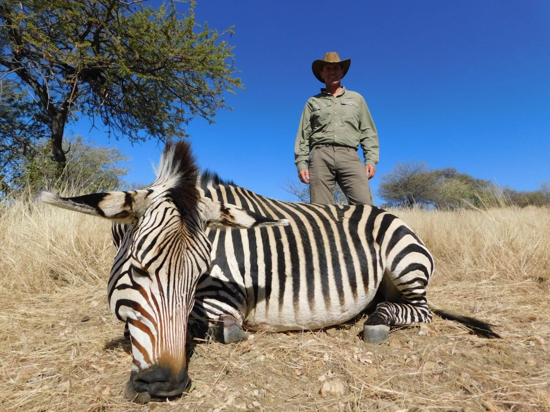 Schalk Pienaar Safaris Namibia ~ Hartmann's Mountain Zebra Hunting
