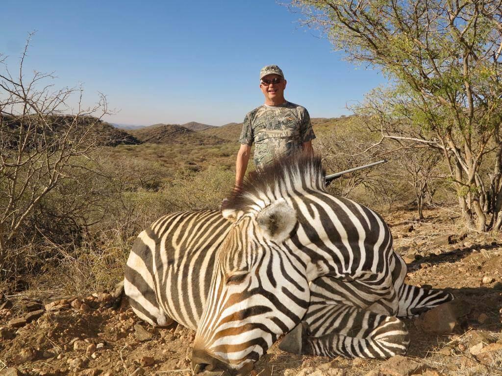 Zebra hunt namibia ~ schalk pienaar safaris namibia