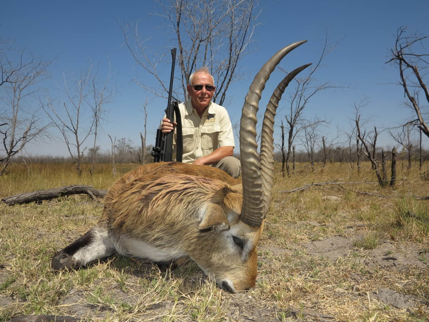 Red Lechwe hunting ~ Schalk Pienaar Safaris Namibia