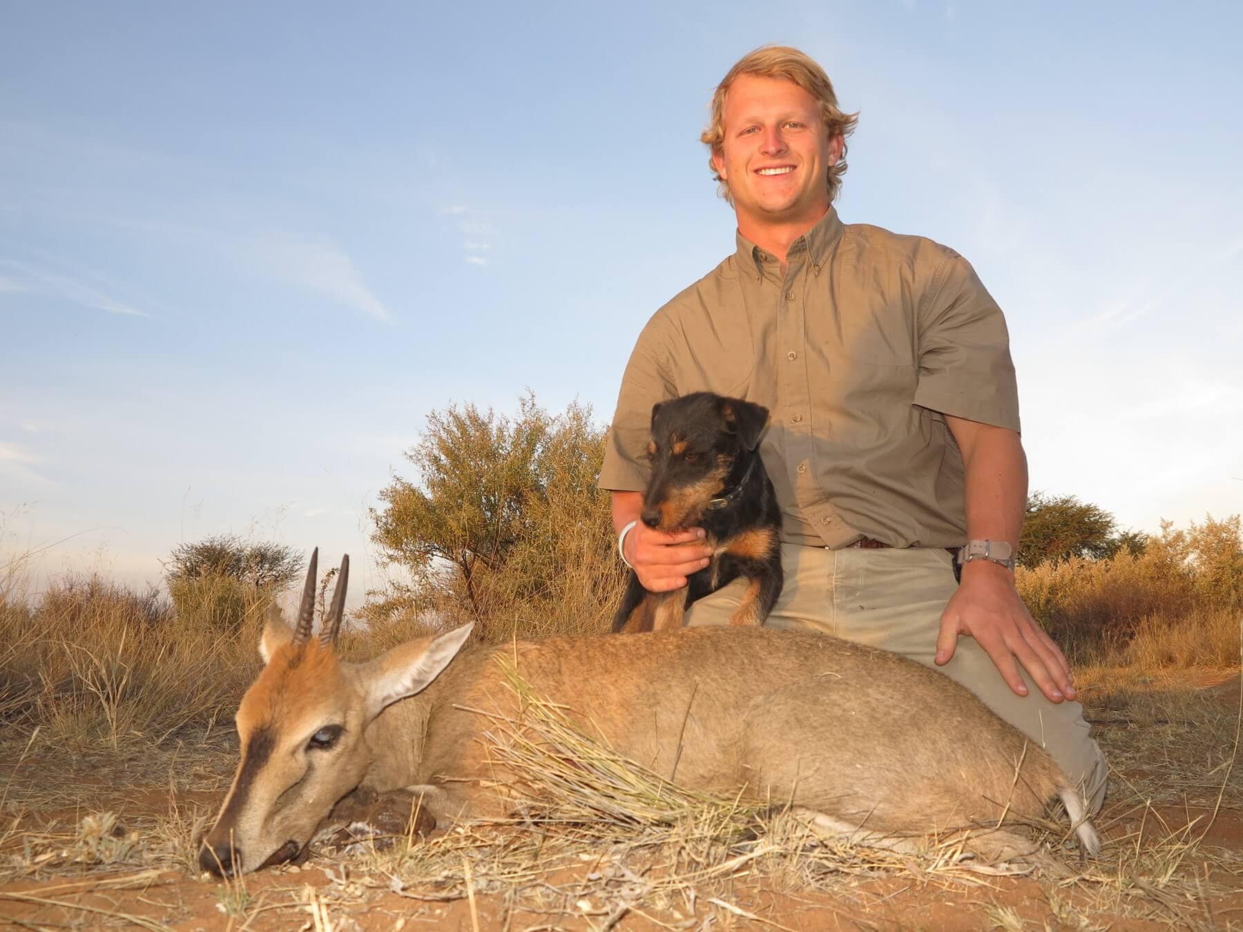 Duiker hunting namibia ~ Schalk Pienaar Safaris Namibia
