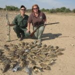 Schalk Pienaar Safaris Namibia ~ Wingshooting Sand Grouse