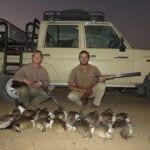Schalk Pienaar Safaris Namibia ~ Wingshooting Egyptian Geese