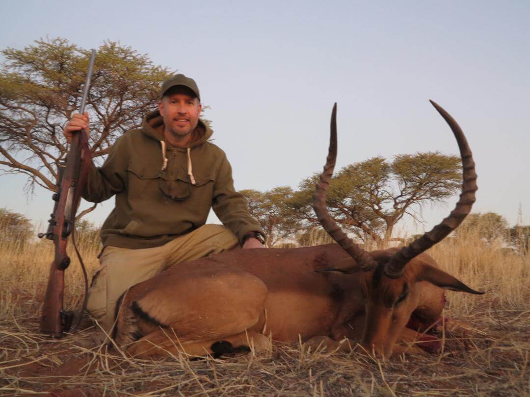 Red Lechwe Trophy Hunt Africa