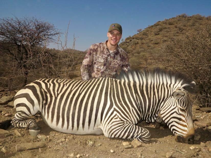 namibia zebra hunt