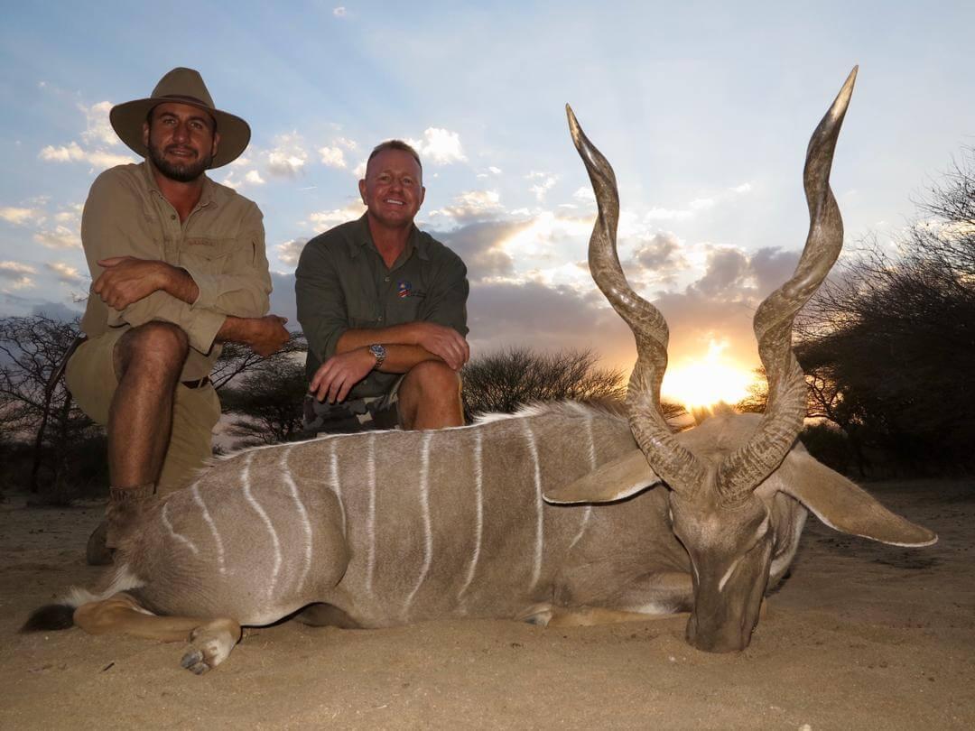 lesser kudu trophy