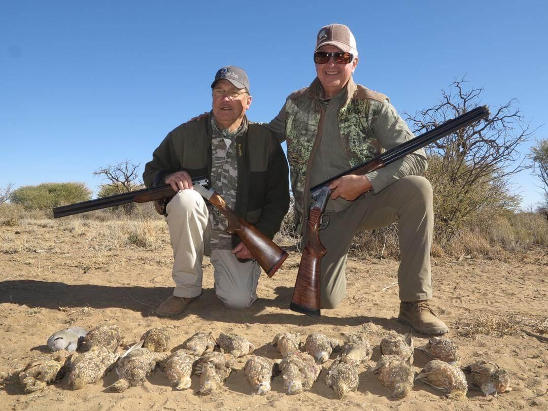 africa bird hunts