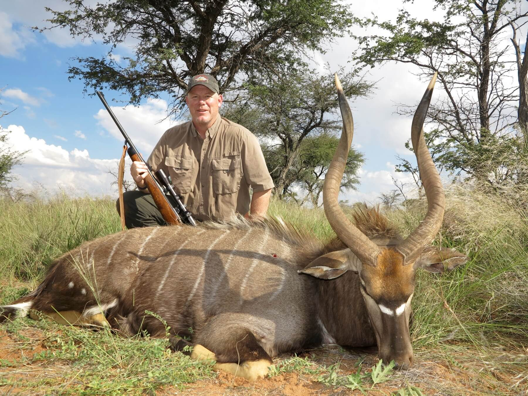 namibia nyala hunt