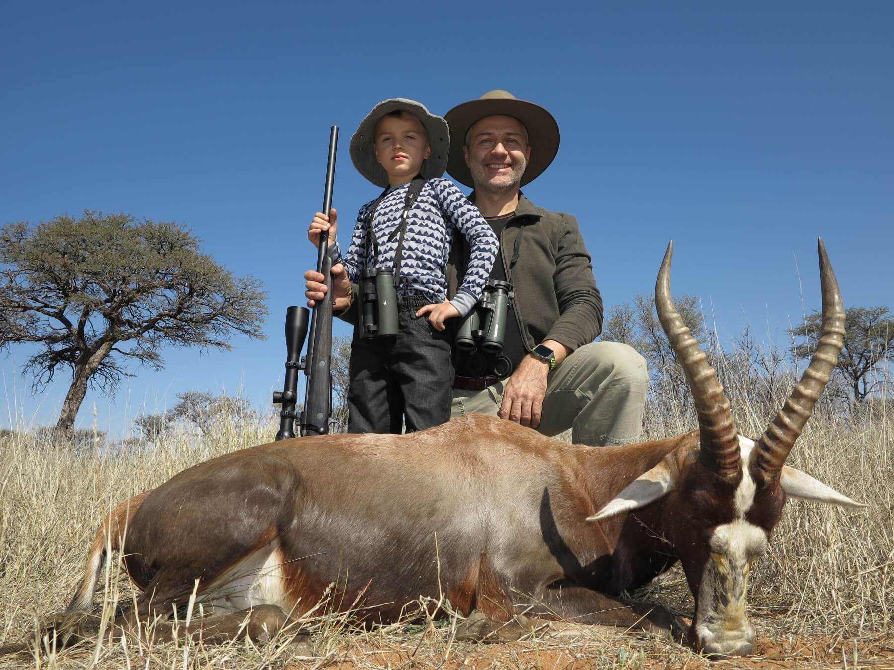 family hunts namibia