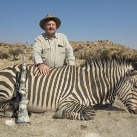 Schalk Pienaar Safaris Nambia ~ Hartmann's Mountain Zebra Hunting