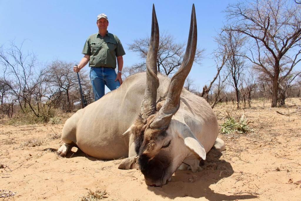 Schalk Pienaar Safaris Namibia ~ 2018 Trophy ~ Eland