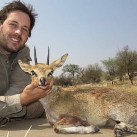 Schalk Pienaar Safaris Namibia ~ Klipspringer Hunting