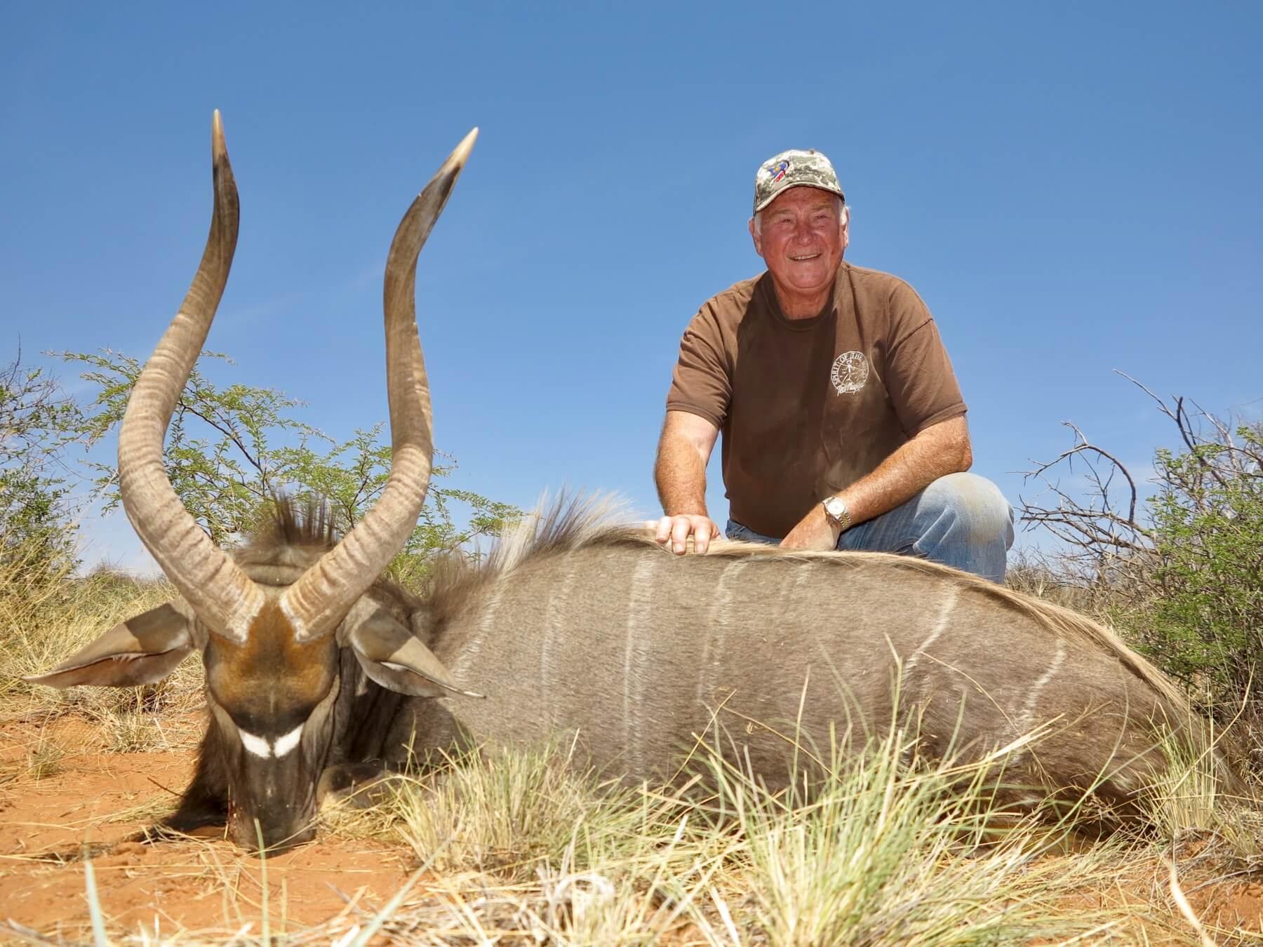Schalk Pienaar Safaris Namibia ~ Nyala Hunting