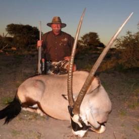 Schalk Pienaar Safaris Namibia ~ Oryx (Gemsbok) Hunting