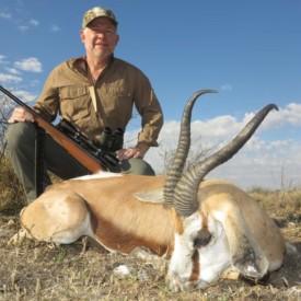 Schalk Pienaar Safaris Namibia ~ Springbok Hunting