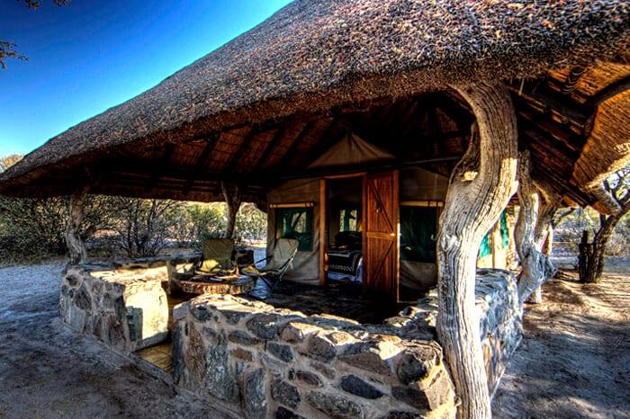 Schalk Pienaar Safaris Namibia ~ Tholo Safaris Camp Botswana