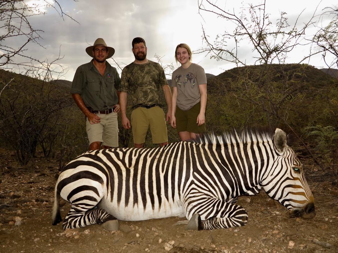 namibia hartmann zebra hunting