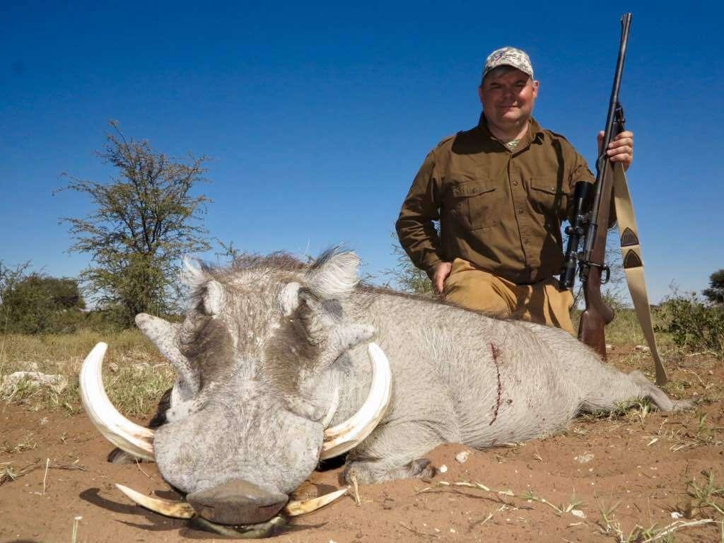 Schalk Pienaar Safaris Namibia 2018 Trophy ~ Warthog Hunting