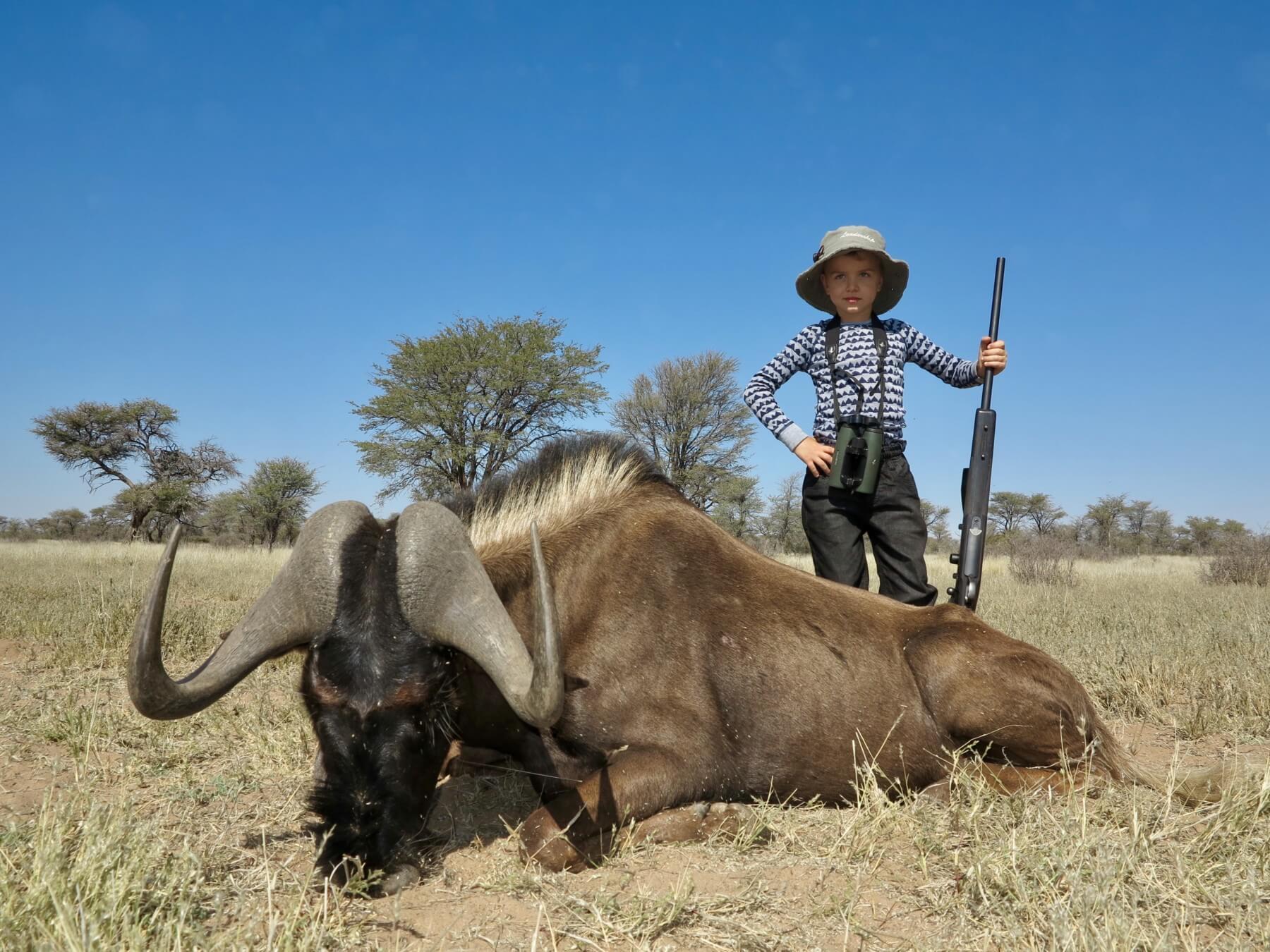 Schalk Pienaar Safaris Namibia ~ Black Wildebeest Hunting