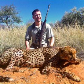 Schalk Pienaar Safaris Namibia ~ Cheetah Hunting