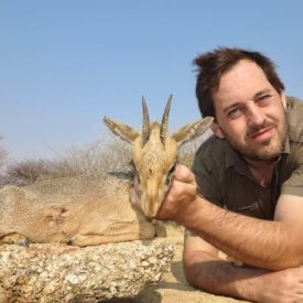 Schalk Pienaar Safaris Namibia ~ Damara Dik Dik Hunting