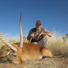 Schalk Pienaar Safaris Namibia ~ Lechwe Hunting