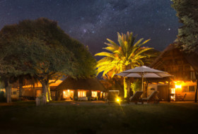 Schalk Pienaar Safaris Namibia ~ Neuhof Lodge At Night
