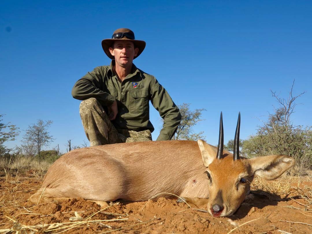 steenbuck trophy ~ schalk pienaar safaris namibia