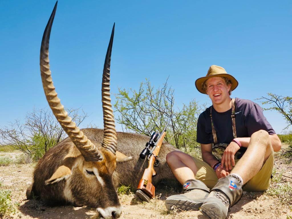 waterbuck trophy schalk pienaar safaris namibia