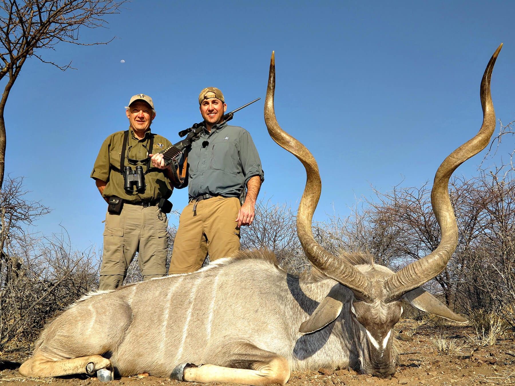 Schalk Pienaar Safaris Namibia ~ Kudu Hunting