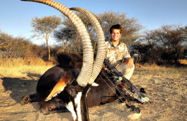 Schalk Pienaar Safaris Namibia ~ Sable Hunting